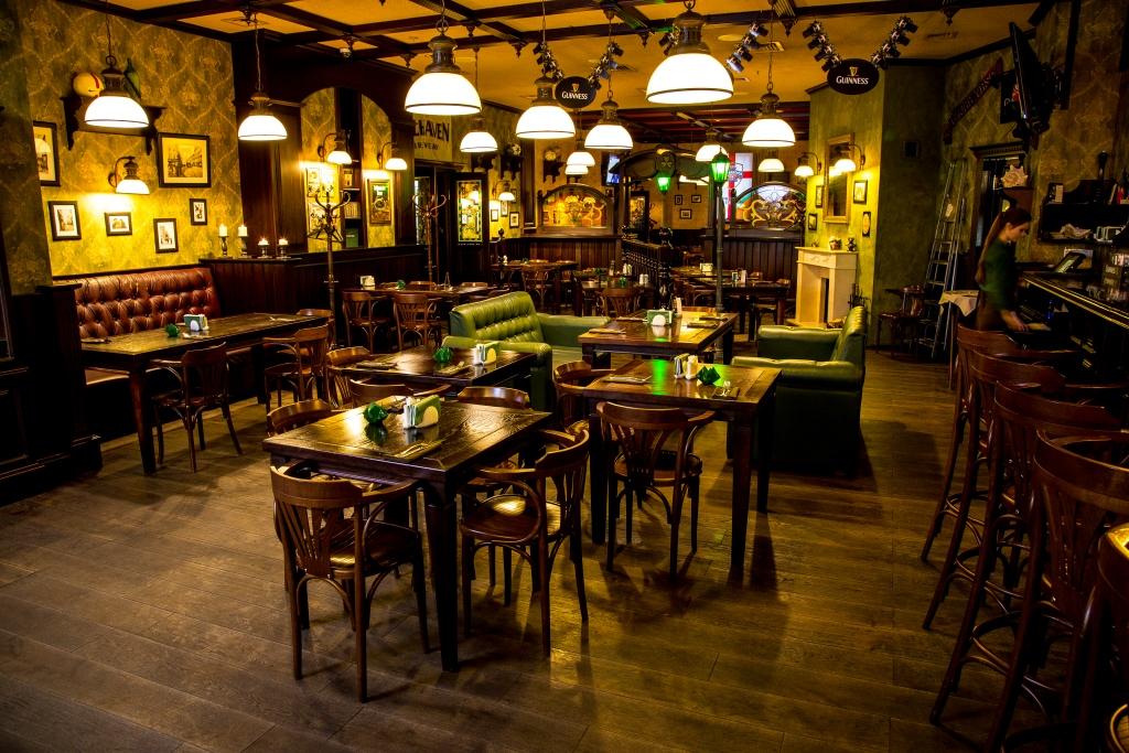Ресторан Patrik Pub - фотография 11 - Зал 1