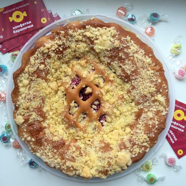 Ресторан Конфетки-бараночки - фотография 3 - Малиновый пирог