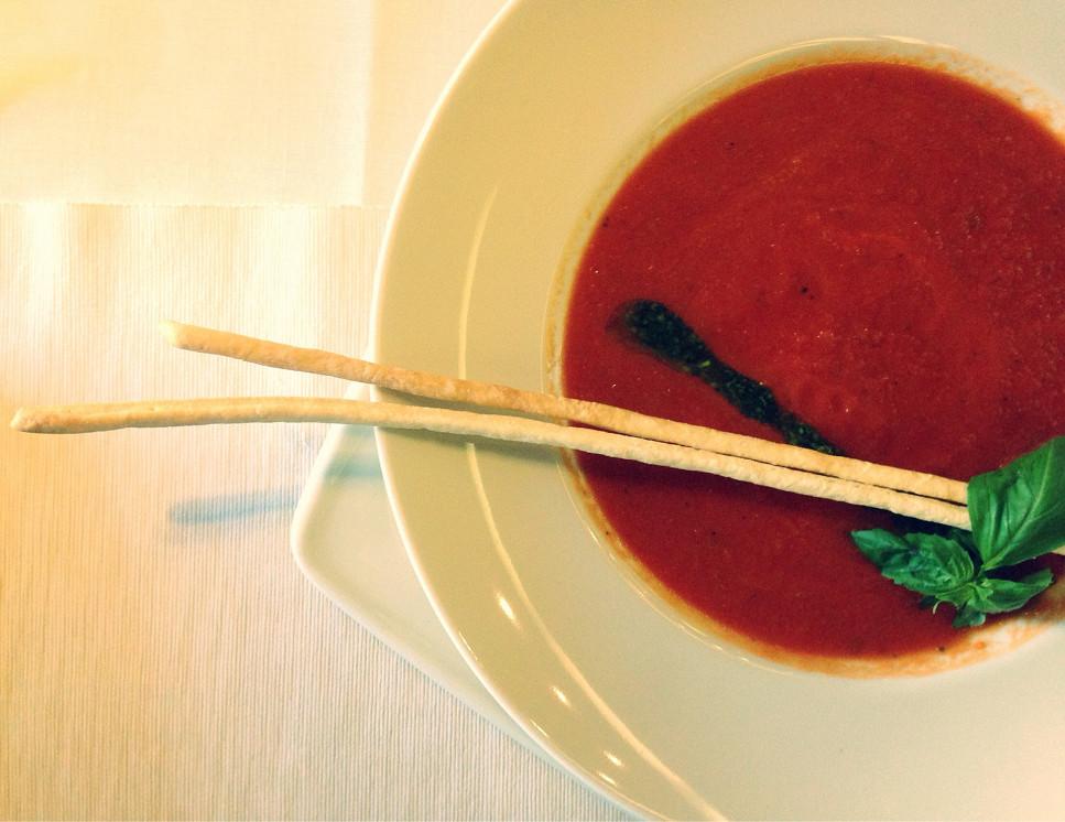 Ресторан Vino di vino - фотография 33 - Томатный суп