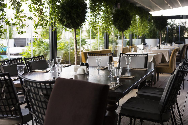 "Ресторан Шелк - фотография 12 - ""Зимний сад"""