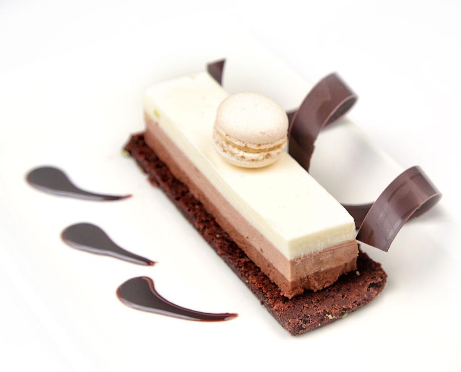 "Ресторан Де Марко - фотография 32 - Чизкейк ""Три шоколада"""