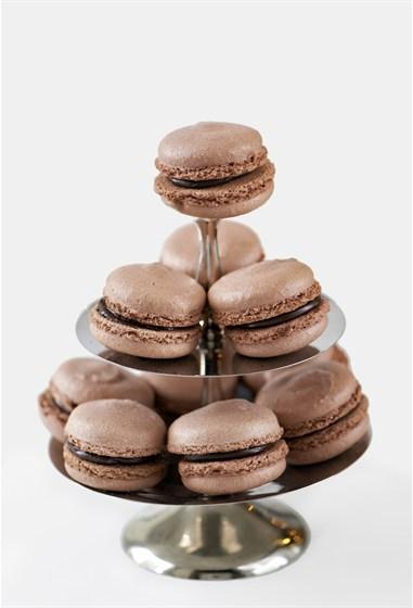 Ресторан Bontart - фотография 4 - Шоколадные макаруны!