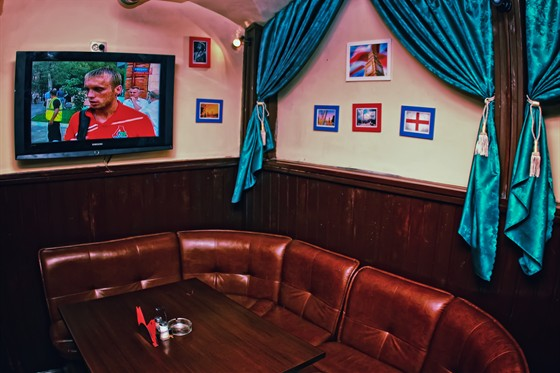 Ресторан The Tramp - фотография 2 - транслянции матчей