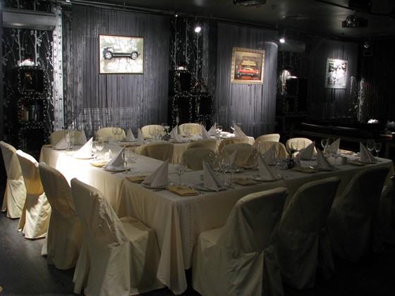 Ресторан Andreas - фотография 12 - Зал Караоке - Банкет