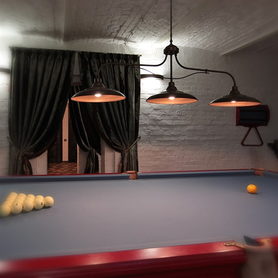 Ресторан Whisky Rooms - фотография 16 - бильярдная комната