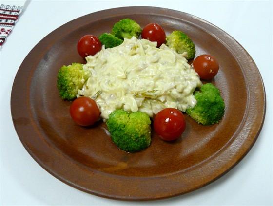 Ресторан Первак - фотография 12 - Осетрина в сливочном соусе
