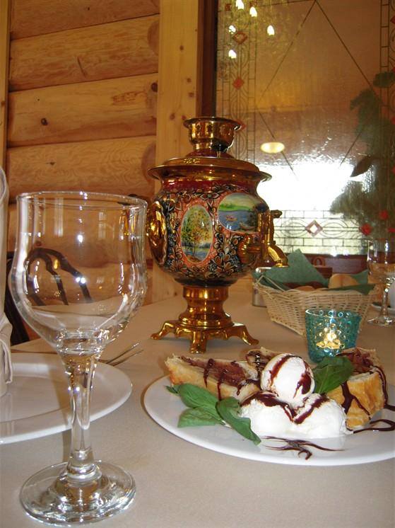 Ресторан Крапива - фотография 2 - вкусно и красиво в ресторане Крапива