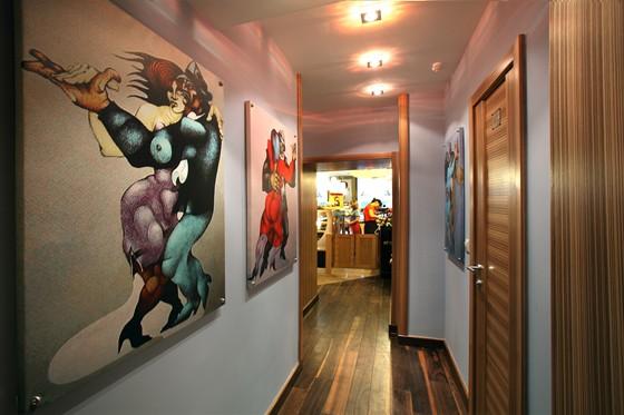 Ресторан Терракот - фотография 3 - Коридор в основной зал