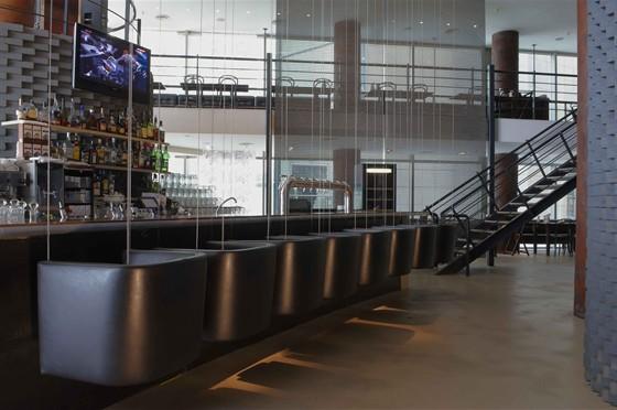Ресторан Хмель и солод - фотография 2 - Интерьер