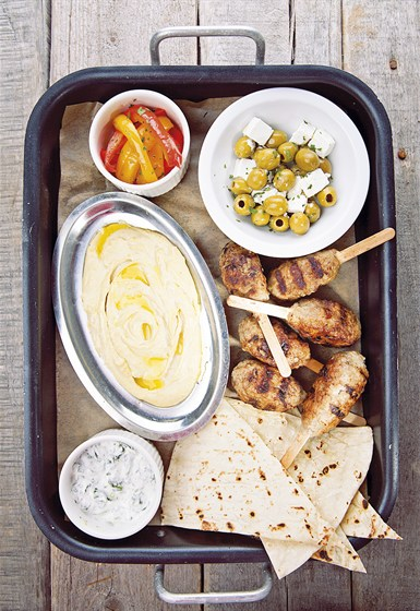 Ресторан Zinger Grill - фотография 7 - Ужин бедуина