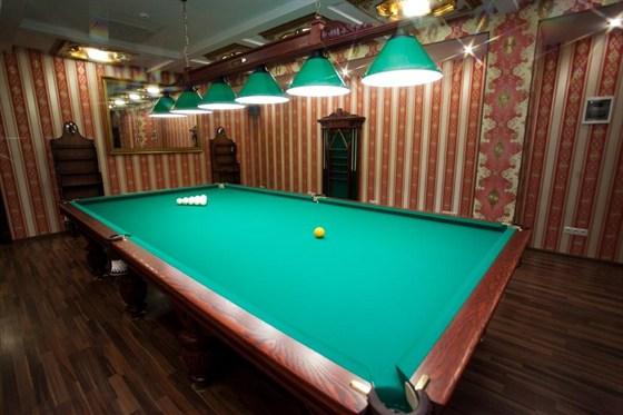 Ресторан Greenwich - фотография 7 - VIP кабинет с бильярдом,шахматами и нардами ручной работы. на 10 персон