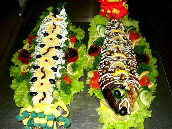 Ресторан Медео - фотография 9 - рыб.блюда медео
