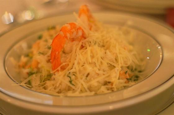Ресторан На Знаменке - фотография 16 - Ризотто с креветками