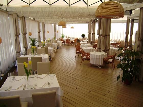 Ресторан La terrazza - фотография 12 - Терраса