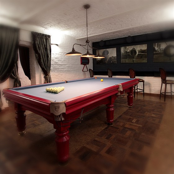 Ресторан Whisky Rooms - фотография 17 - бильярдная комната
