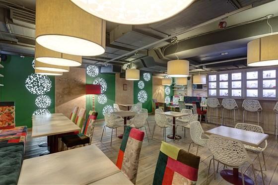 Ресторан Гусь в яблоках - фотография 5 - Второй зал