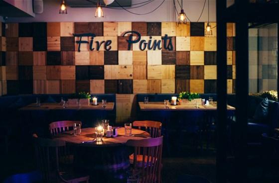 Ресторан The Five Points - фотография 12