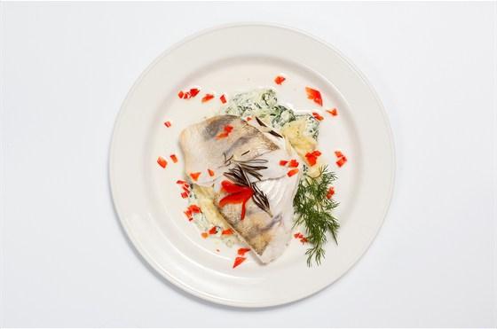 Ресторан Всякая всячина - фотография 10 - Филе судака запеченое