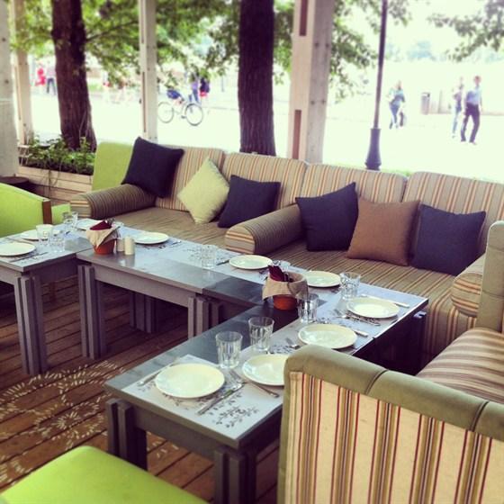 Ресторан Теплица в Нескучном саду - фотография 8