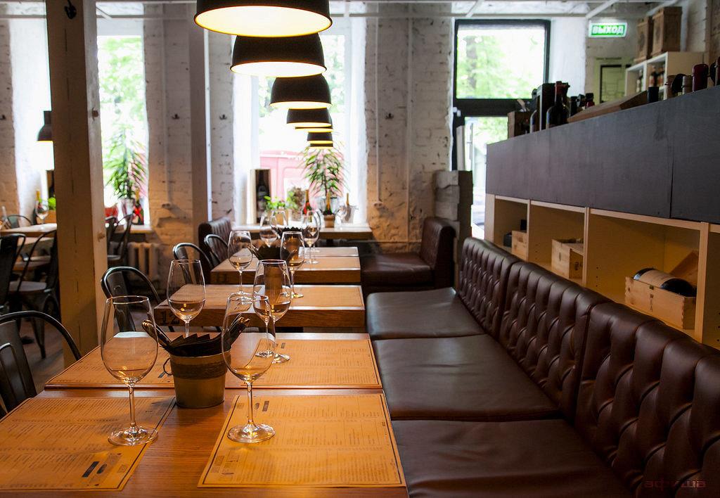 Ресторан Хлеб и вино - фотография 15
