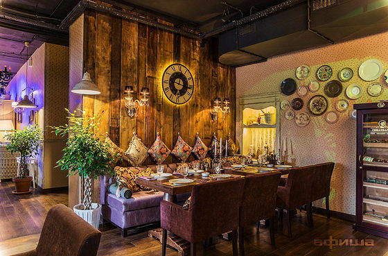Ресторан Boho-chic Bar - фотография 11