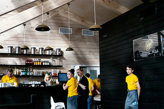 Ресторан Шардам в Музеоне - фотография 9