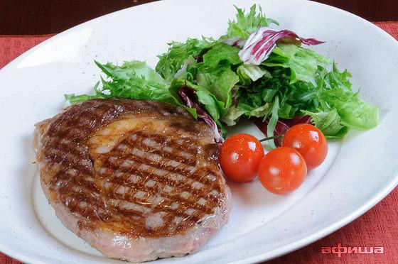 Ресторан Плотников  - фотография 10 - Рибай стейк на гриле