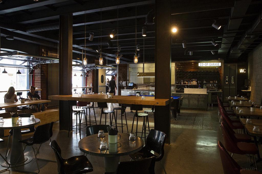 Ресторан Co-op Garage - фотография 2