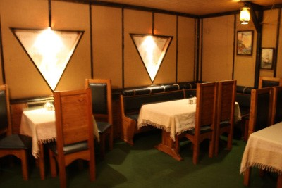 Ресторан Адмирал Нельсон - фотография 13 - Зеленый зал
