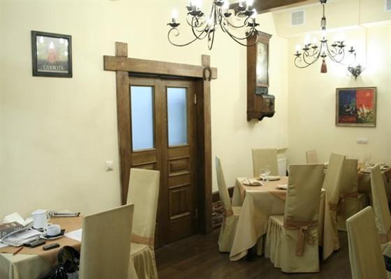 Ресторан Шагал - фотография 4 - Основной зал