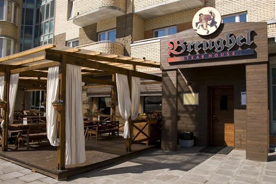 Ресторан Breughel - фотография 2 - Летняя терасса