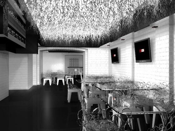 Ресторан Dyxless - фотография 11 - Основной зал