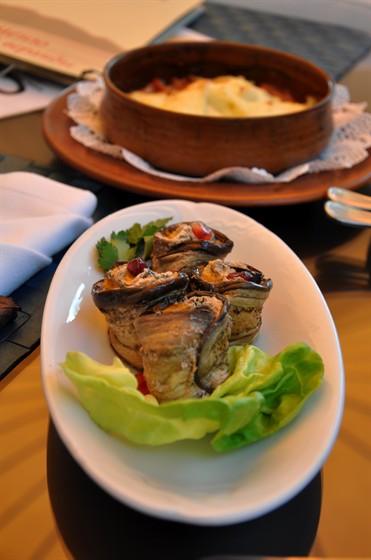 Ресторан Черноморская ривьера - фотография 24 - Баклажаны