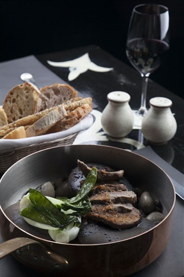 Ресторан Оливетта - фотография 16 - Тальята из говядины Tataki style