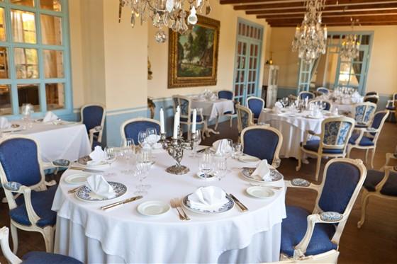 Ресторан La colline - фотография 14 - Голубой зал