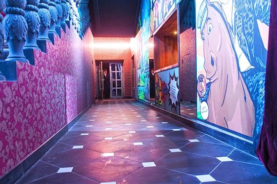 Ресторан Сивка-Бурка - фотография 3 - Сивка-Бурка  Кафе - Караоке - Бар проход в клуб (мимо гардероба)