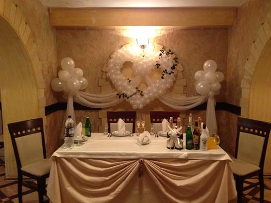 Ресторан На Востоке - фотография 2 - Оформление свадебного зала