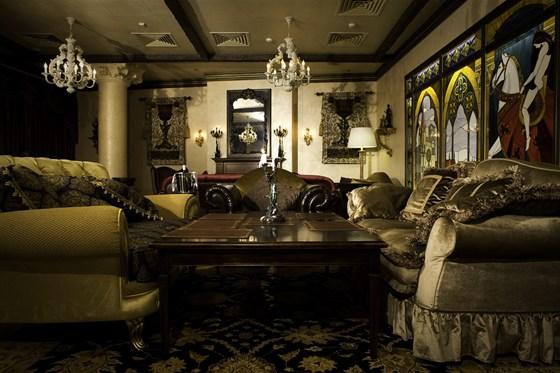 Ресторан Visconti - фотография 5 - Сigar lounge Visconti