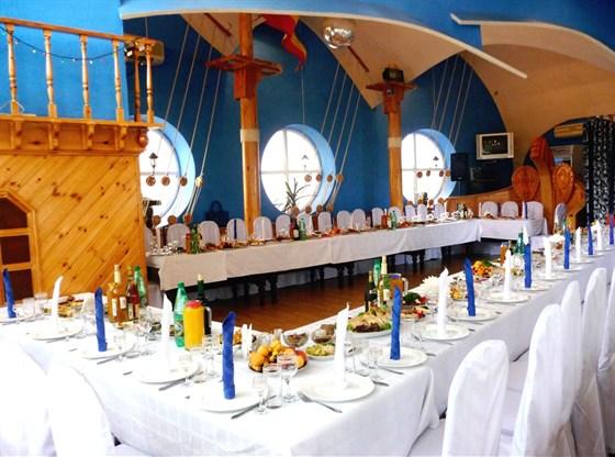 Ресторан Ковчег - фотография 16 - Банкетный зал