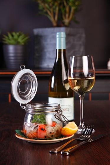 Ресторан Бизон - фотография 28 - Маринованный лосось