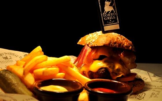Ресторан Torro Grill - фотография 7 - TG чизбургер