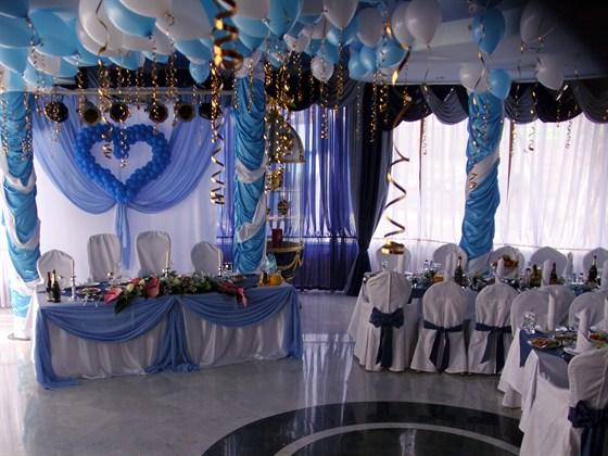 Ресторан Любить по-русски - фотография 6 - Голубой зал