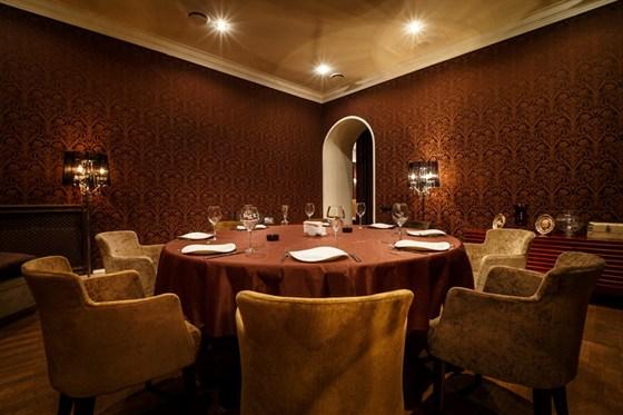 Ресторан Архитектор - фотография 15 - vip-комната