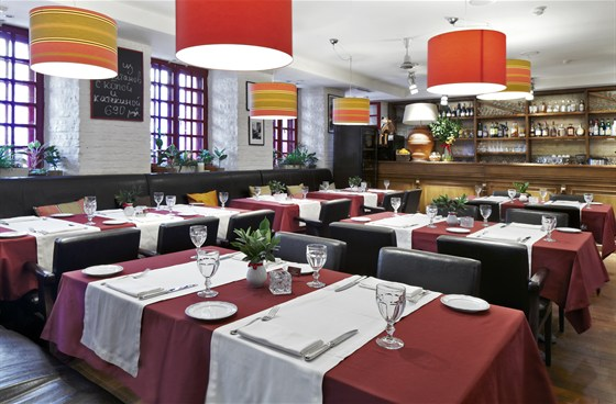 Ресторан Pane & Olio - фотография 2 - Salotto