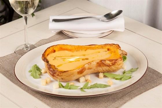 Ресторан Borgato - фотография 9 - Суп-пюре из тыквы