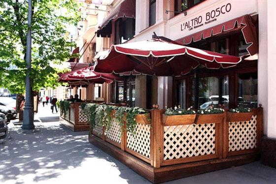 Ресторан L'altro Bosco Café - фотография 8