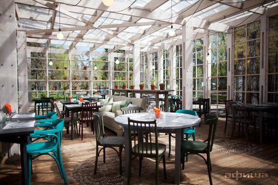 Ресторан Теплица в Нескучном саду - фотография 20