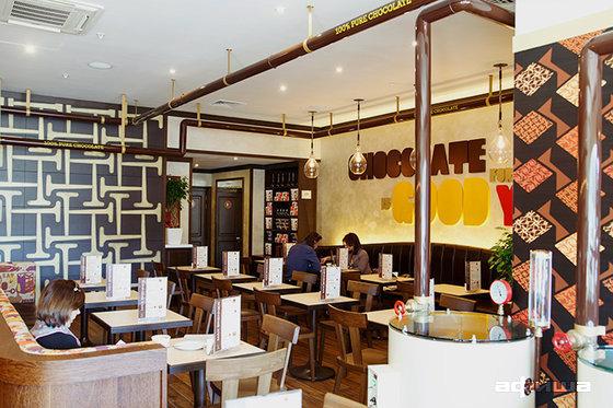 Ресторан Max Brenner - фотография 17