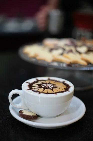Ресторан Me Gusta Café - фотография 2 - Капучино from Me Gusta Cafe