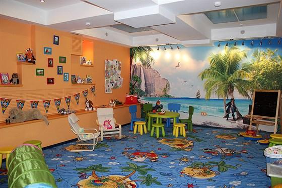 Ресторан Da Pino - фотография 2 - Детская комната в ресторане.